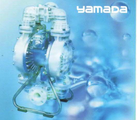 日本YAMADA雙隔膜氣動幫浦